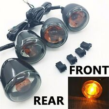 Front Rear Turn Signal Indicator Kit For '92-'16 Harley Sportster XL 883 1200 Sm