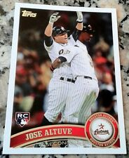 JOSE ALTUVE 2011 Topps Update Rookie Card RC HOT Astros .338 BA 24 HRs 30 SB