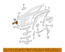 GM OEM Front Door-Hinge Check 25830280