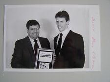 Glossy Press Photo Lincoln Sudbury MA Swim Team Scott Davis 1980-90's