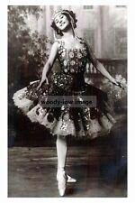 rp10559 - Russian Prima Ballerina , Anna Pavlova - photograph 6x4