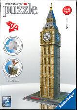 Ravensburger 125548 Big Ben - London - 3D Gebäude Puzzle (216 Teile)