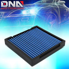 FOR 2009-2019 HONDA CIVIC/CRV/HRV/FIT/INSIGHT RECLEANABLE CABIN AIR FILTER BLUE