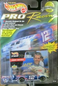 1998 Hot Wheels Pro Racing Trading Paint Nascar #12 Jeremy Mayfield Die Cast Car