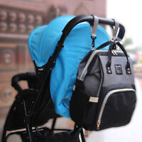 BABY PUSHCHAIR STROLLER CLIP HOOK BUGGY PRAM KIDS DIAPER BAG HANGER SAFE FUNNY