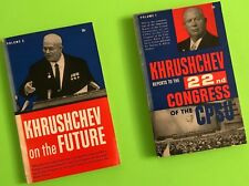 KHRUSHCHEV ON THE FUTURE: Report on the Program of the Communist Party Vol.1 & 2