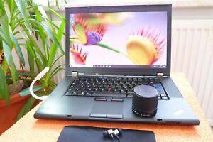 Lenovo W520 Thinkpad l SSD NEU l AKKU NEU l 32GB RAM l Turbo QUAD Core i7 POWER