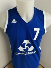 superbe maillot basket-ball adidas  taille L n°7
