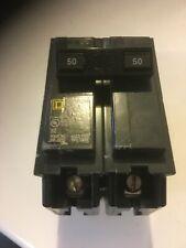 Electrical Circuit Breaker - Square D homeline 50 amp