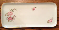 "Hutschenreuther Selb Platter Floral 12"" made in Germany"
