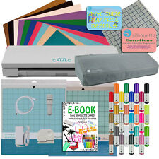 Silhouette Cameo 3 Bluetooth VINYL STARTER PLUS BUNDLE Free Cover