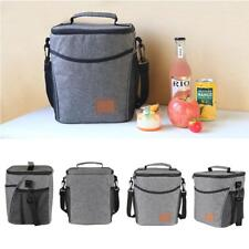 Waterproof Lunch Bag Thermal Cooler Insulated Portable Tote Storage Box SS US