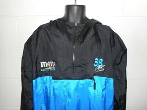 Vintage NASCAR M&M Elliott Sadler Pullover Windbreaker Jacket Fits M/L
