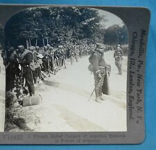 WW1 Stereoview Photo French Relief Column Algerian Zouaves Argonne Keystone