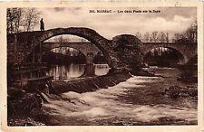 CPA MARSAC Les Deux Ponts sur la Dore (409647)