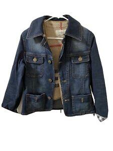 Burberry Denim Jacket Us Size 8