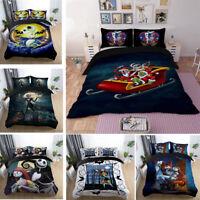 Disney the Nightmare Before Christmas Jack Sally Zero Duvet Covers Bedding Set