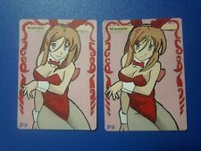 2x MTG Altered Art Mountain Hot Sexy anime hentai girl Hand Painted full art
