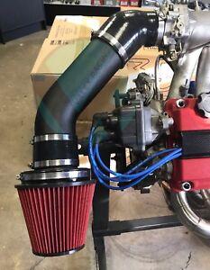"4"" inch Air Intake V / velocity stack for Honda Civic Acura Integra B16 B18 D16"