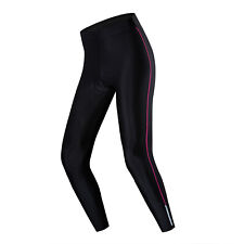 New Women Cycling Long Pants Tight Leggings Bicycle Bike 5D Padded Trousers