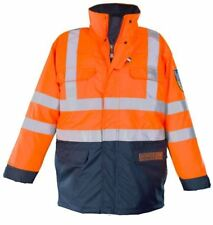 "Roots RO1517 Full Option Parka Jacket Orange Navy 46 to 48"" XXL Chest"