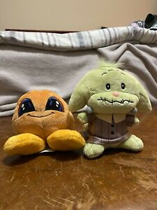 Neopets Keyquest Halloween Plush Lot, no tags