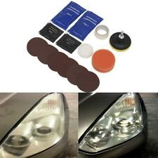 SEALEY Headlight Lens Restoration Sealer Kit Car Motorbike With DRILL ADAPTER