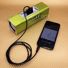 BLACK iPod Dock 30pin Female to 3.5mm Audio Aux Input Male Adapter Converter