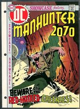 Showcase 93 VARIANT APPROVAL COVER ART `70 NO# OR$ SEKOWSKY Manhunter 2070 Proof