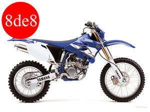 Yamaha WR 450 - Manual taller en CD