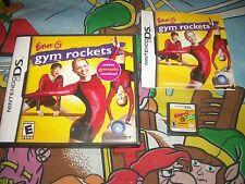 Ener-G: Gym Rockets Nintendo DS Game Complete Case Manual
