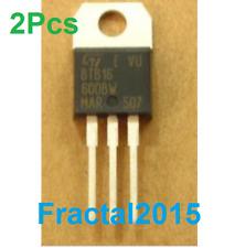 2PCS ST BTB16-600BW TO-220 16A TRIACS