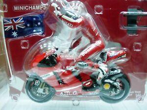 WOW EXTREMELY RARE Ducati Desmosedici GP7  Stoner 2007 Australia 1:12 Minichamps
