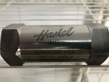 Haskel 5000psi Stainless Check Valve