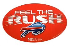 Buffalo Bills Auto-Truck--Van-Refrigerator Large Magnet - FEEL THE RUSH