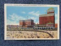 Haddon Hall, Chalfonte Hotels, Atlantic City, New Jersey Vintage Postcard