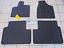 2012 Chrysler Town & Country New Slush Mats Stow 'n Go Black Mopar Factory Oem