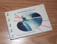 Ten Plastichrome Reproductions Niagara Falls Souvenir Booklet **READ**