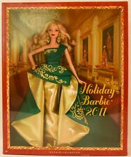 """Holiday Barbie 2011 • new • box is 13"""" x 10.5"""" x 3"""""""