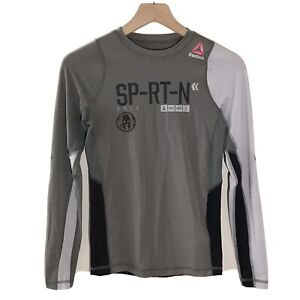 Reebok Women's Spartan Race Compression Long Sleeve T Shirt Medium CrossFit