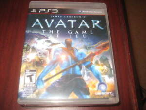 Avatar - Playstation 3 PS3 - Excellent Condition