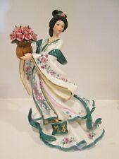 "The Danbury Mint The ""Rose Princess"" Porcelain Figurine by Lena Liu"