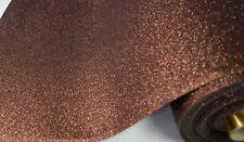 Marrone scuro EVA in gomma crepla GLITTER Bastelstoff metraggio 2mm sostanze sostanza   4289
