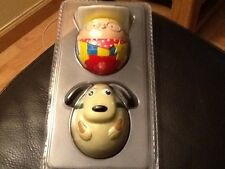 Nestle Milky Bar Kid Weebles. Kid and Dog. NEW STILL IN PACKAGING