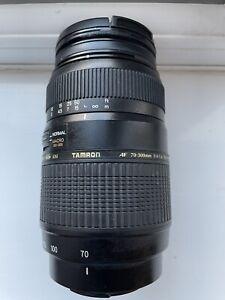 Tamron AF 70-300mm F/4-5.6 Di LD Macro Lens - Black