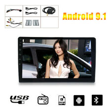 "10.1"" inch Android 9.1 Double 2DIN Car Radio Stereo Quad Core GPS Navi Wifi Set"