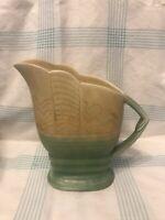 Beswick Art Deco Jug Mottled Green & Yellow Pattern No 567