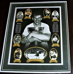 COPY OF BOBBY ORR PICTURE BOSTON BRUINS 11 X 13 INCHES