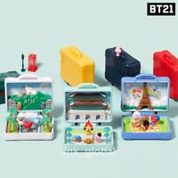 [BT21] BT21 Official Travel Diorama World Tour Toy Authentic + Free Tracking Num