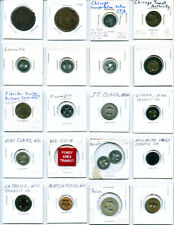 20 Pack Different Illinois Wisconsin Indiana & Minnesota Good For Tokens